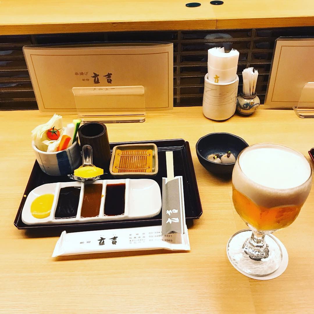 味、雰囲気、コスパ抜群!新宿の超人気串揚げ店!