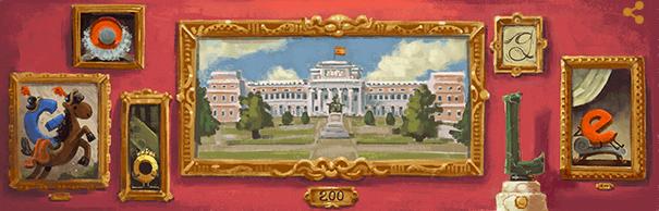 プラド美術館 200 周年に11/19のgoogleロゴが変更!!スペインを代表する世界的美術館の魅力と歴史とは!?