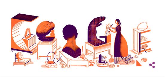 カミーユ・クローデルに12/8のgoogleロゴが変更!!フランスを代表する女性彫刻家!!