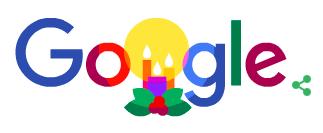 ハッピー ホリデーに12月23日、12月24日、12月25日のgoogleロゴが変更!!海外ではクリスマスに多く使われる言葉!!