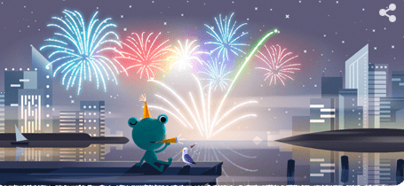 大晦日に12月31日のgoogleロゴが変更!!2019年にあった出来事を振り返ってみる!!
