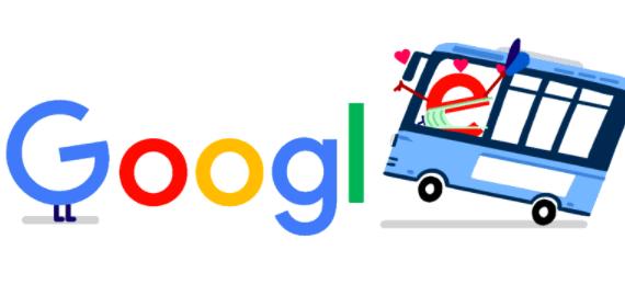 公共交通機関 コロナ 支援に4月14日のgoogleロゴが変更!!バスや電車が動いていることに感謝を込めて!!