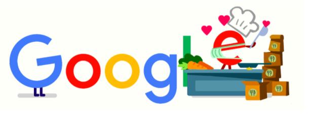 食 コロナ 応援に4月16日のgoogleロゴが変更!!外食産業の皆様に感謝を込めて!!