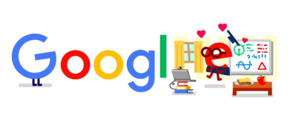 教育 コロナ 支援に4月17日のgoogleロゴが変更!!教育現場で学生を支援する先生たちに感謝を込めて!!