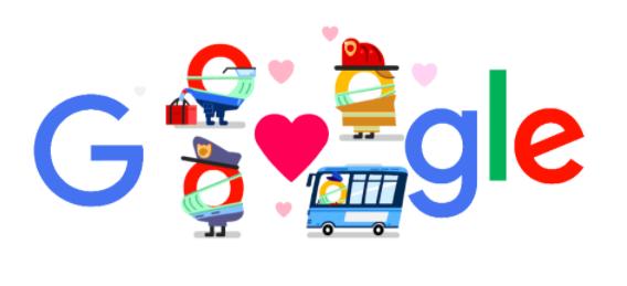 新型コロナウイルス 私たちにできることに4月18日のgoogleロゴが変更!!1人1人の行動が今後の日本を変える!!