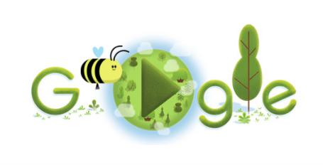 アースデイ(地球の日)に4月22日のgoogleロゴが変更!!今年もあつ森でイベント開催予定の地球環境の日!!