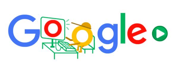人気の Google Doodle ゲームにgoogleロゴが変更!!Doodleの人気ゲームが再び登場!!