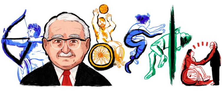 ルートヴィヒ・グットマンに7月3日のgoogleロゴが変更!!4年に1度の祭典、パラリンピックの生みの親!!
