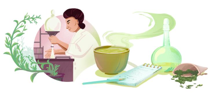 辻村みちよに9月17日のgoogleロゴが変更!!緑茶の栄養や化学成分を研究した第一人者!!